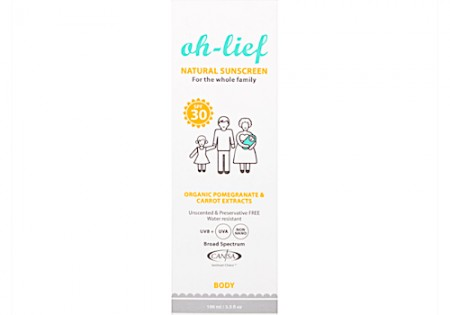 OH-LIEF NATURAL SUNSCREEN