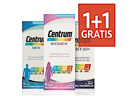 Centrum Multivitamines met 50% Korting