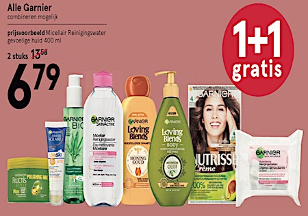 Loving Blends Alle Garnier 50 % korting