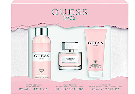 Guess 1981 Women Eau de Toilette + Bodylotion + Bodymist