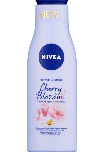 NIVEA Cherry Blossom Body Olie In Lotion 200 ML