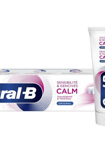 Oral B Tandpasta sensitive original 75 ml