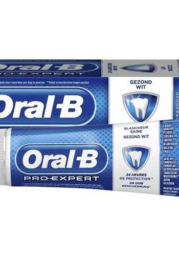 Oral B Tandpasta gezond wit 75 ml