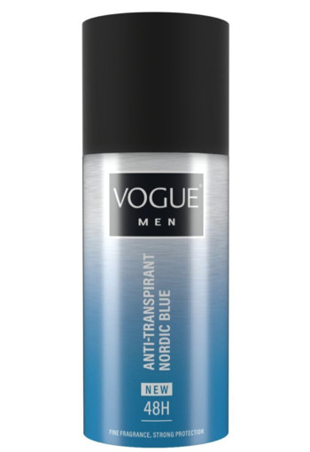 Vogue Men Nordic Blue anti-transpirant (150 ml)