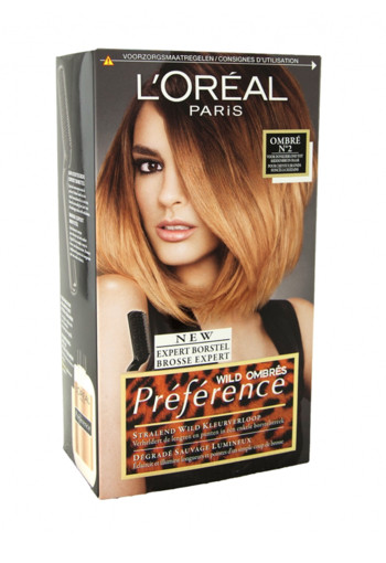 Loreal Preference 02 wild ombre (1 set)