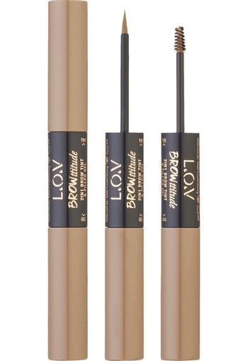 L.O.V BROWttitude 2-In-1 Brow Tint & Filler Gel 100 | 9 ml