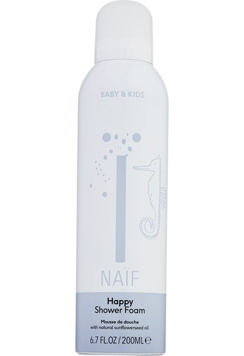 Naif Happy shower foam 200 ml