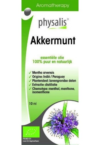 Physalis Akkermunt Bio 10ml