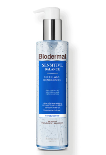 Biodermal Sensitive Balance Micellaire reinigingsgel 200 ml