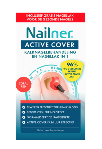 Nailner Active cover red 1 set