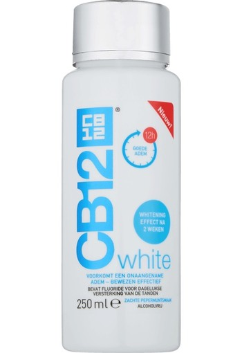 CB12 Mondwater White 250 ml