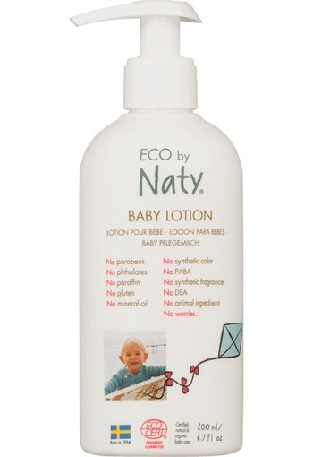 Naty Baby bodylotion 200 ml
