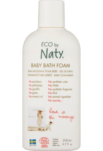 Naty Baby Bath Foam 200 ml