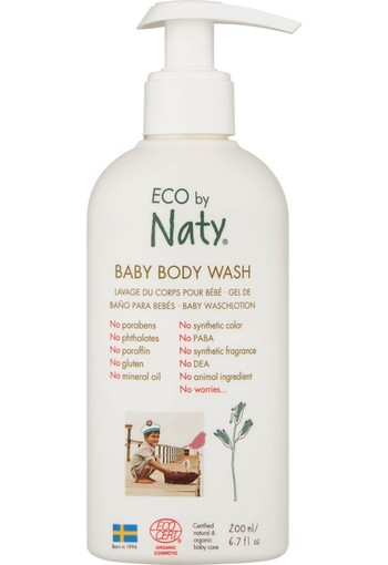 Naty Baby bodywash 200 ml