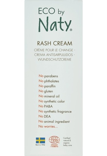 Naty Baby Rash Cream 50 ml