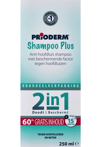 Prioderm Shampoo Plus Anti-Hoofdluis 250 ml
