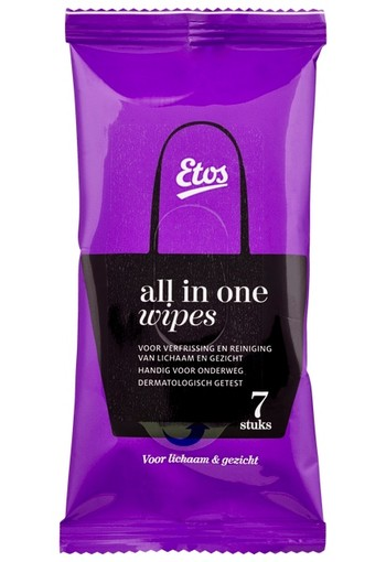 Etos All In One Wipes Mini 7 stuks