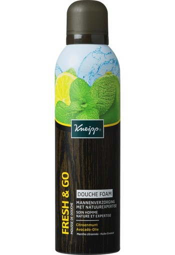 Kneipp Fresh & Go Douche Foam 200 ml