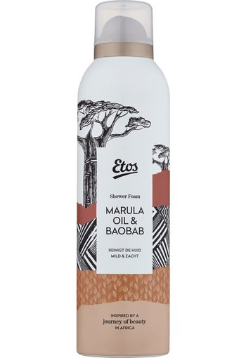 Etos Journey Of Beauty Marula Oil & Baobab Shower Foam 200 ml