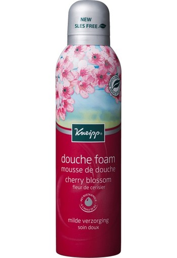 Kneipp Douche Foam Cherry Blossom - 200 ml