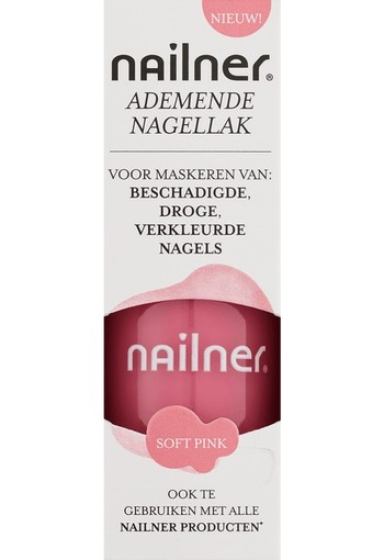 Nailner Repair Ademende Nagellak Soft Pink 8 ml