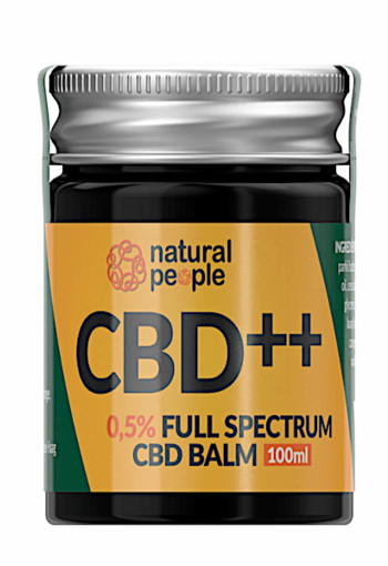 Natural People 0,5% Full Spectrum CBD Balm 100 gr.