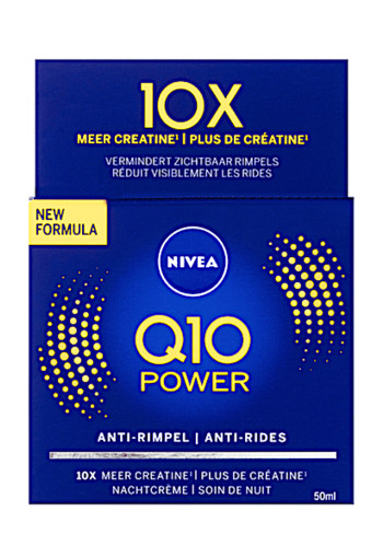 NIVEA Q10 Power Nachtcrème 50 ml