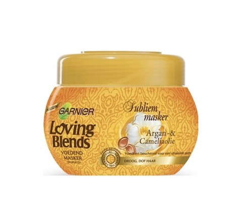 Garnier Loving Blends Masker Argan & Camelia 300ml