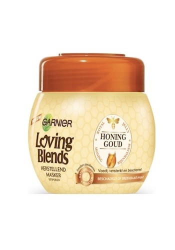 Garnier Loving Blends Masker Honinggoud 300ml