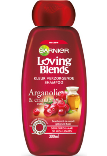Garnier Loving Blends Shampoo Cranberry Argan 300ml