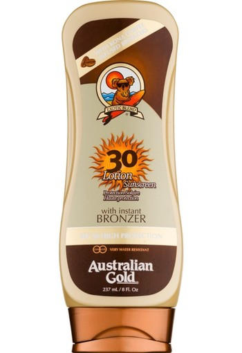 Australian Gold Bronzer Lotion Sunscreen SPF30 237 ml