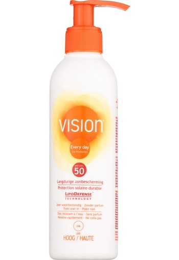 Vision Every Day Sun Protection Pomp SPF50 200 ml
