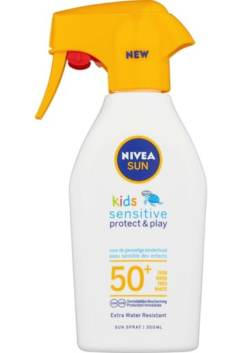 NIVEA SUN Kids Sensitive Protect & Play Triggerspray SPF50 300ml