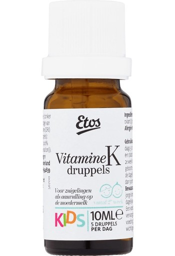 Etos Kids Vitamine K Druppels 10 ml