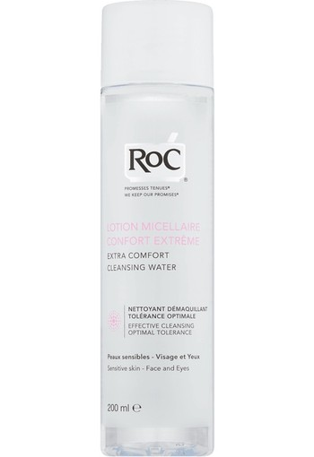 RoC Extra Comfort Cleansing Water 200 ml lotion