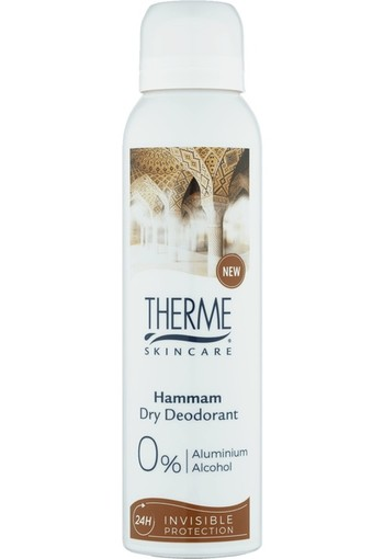 Therme Hammam 0% Dry Deodorant 150ml