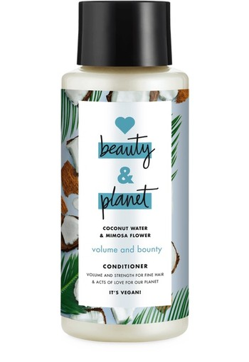 Love Beauty And Planet Volume & Bounty Coconut Water & Mimosa Flower Conditioner 400 ml