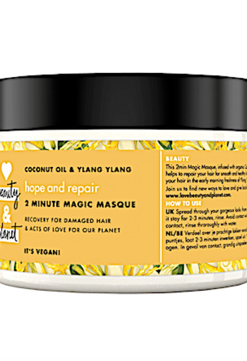 Love Beauty And Plannet Hope & Repair Coconut Oil & Ylang Ylang Masker 300 ml