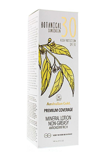 Australian Gold Botanical lotion SPF30 147 ml
