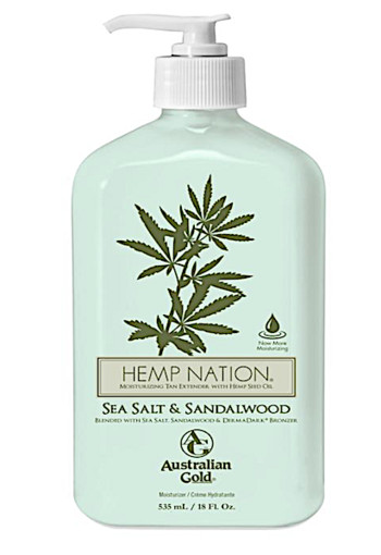 Australian Gold Hemp nation bodylotion sea salt & sandelwood 535 ml