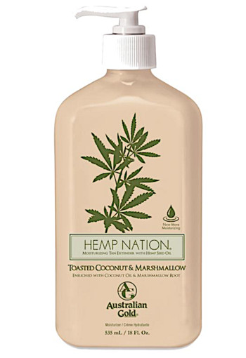 Australian Gold Hemp nation bodylotion toasted coconut & marshmal 535 ml