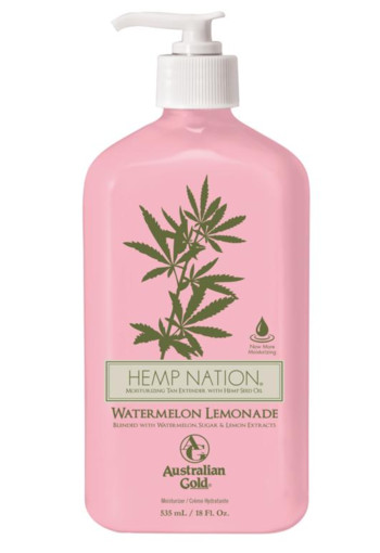 Australian Gold Hemp nation bodylotion watermelon lemon 535 ml