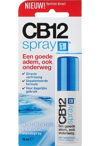 CB 12 mondspray 15 ml