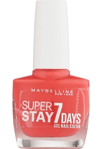 Maybelline Superstay 7 Days Gel Nail Color 490 Hot Salsa