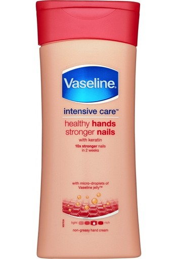 Vaseline Intensive Care Hands & Nails Crème 200 ml