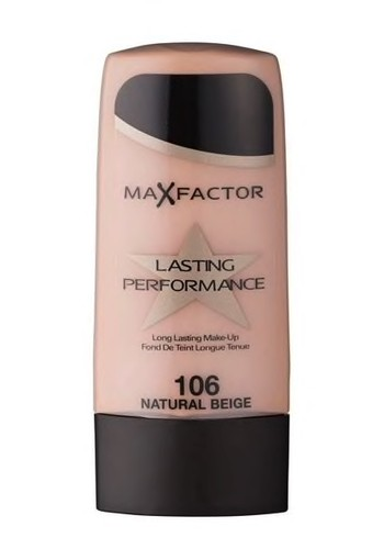 Max Factor Lasting Performance 106 Natural Beige Foundation 35 ml