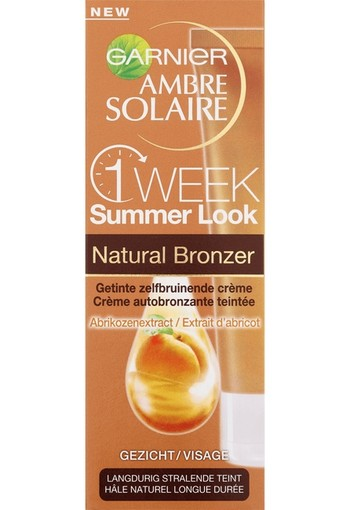 Garnier Ambre Solaire One Week Summer Look Natural Bronzer 50 ml