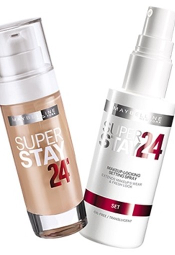 MAYBELLINE SUPERSTAY 24H SETTING SPRAY TRANSPARANT LANGHOUDENDE SPRAY
