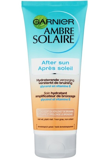 Garnier Ambre Solaire After Sun Versterkt Bruining 200ml