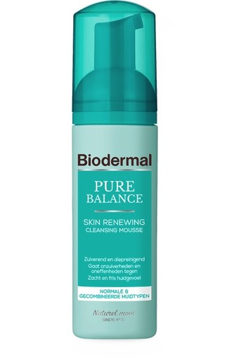 Biodermal Pure Balance Skin Renewing Cleansing Mousse 150 ml